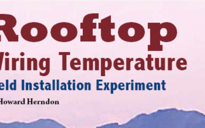Wiring Temperature Field Installation Experiment by Howard Herndon