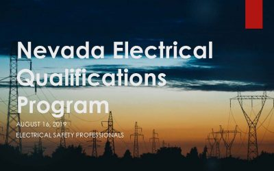 Electrical Qualifications Program
